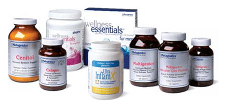 Metagenics Products Image
