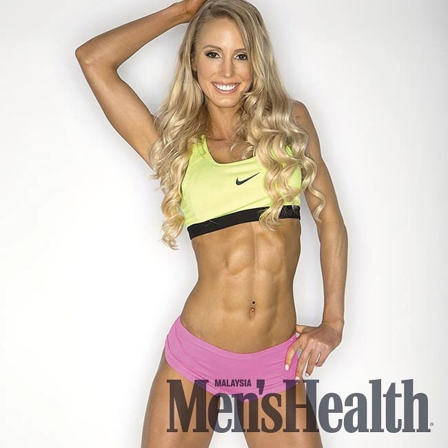 Rachel Scheer Mens Health Magazine Cover