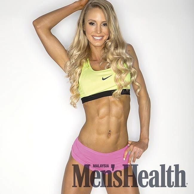 Rachel Scheer Mens Health Magazine Cover